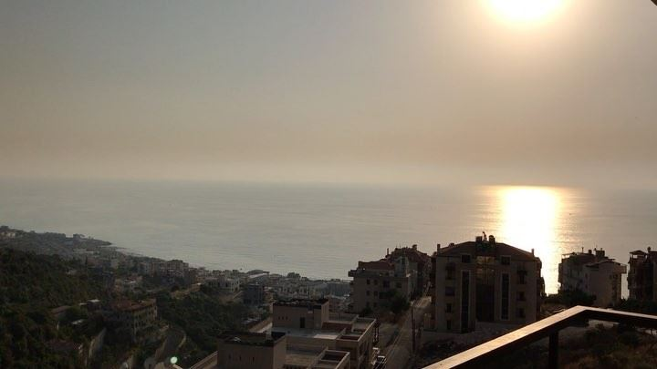 The beauty of  lebanon  halat  mountains  sea  sunrise ... (Halat, Mont-Liban, Lebanon)