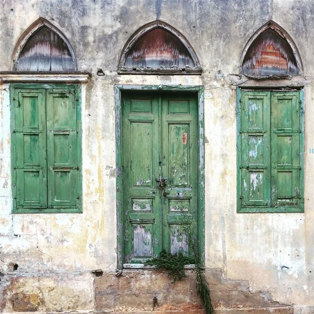 Some doors are meant to be closed,.......... doors  windows ... (Beirut, Lebanon)