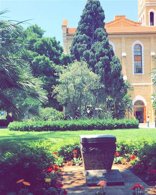 Have a blessed afternoon!  photography  photographer  photographyislifee ... (American University of Beirut (AUB))