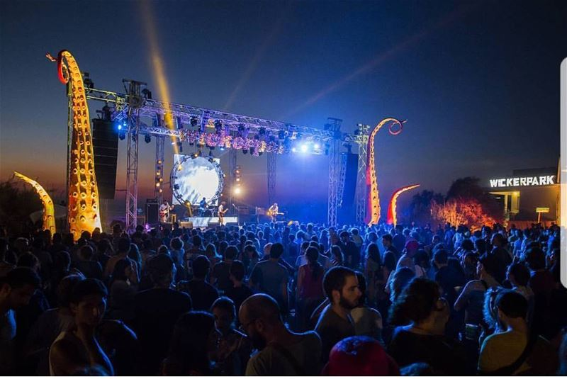batroun @wickerparkfestival  wickerpark  music  festival  September  9 ... (Batroûn)