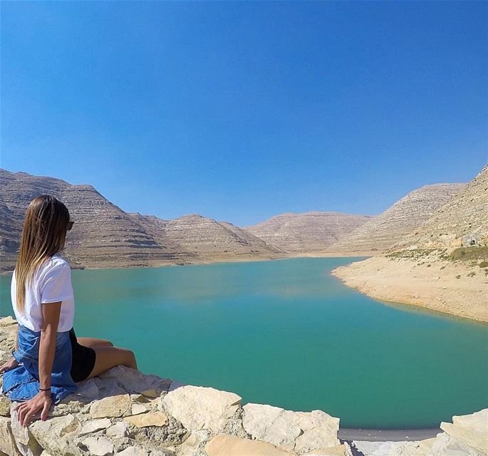 Life is simple, just add water 💧 bythelake  chabrouh  chabrouhdam  faraya... (Faraya Sed Chabrouh)