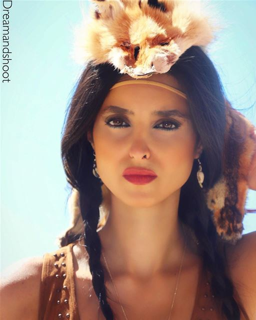 POCAHONTAS 🔥🔥PHOTOSHOOT BY @adham_mayas @sylamc  portraitphotography ... (نيحا الشوف)