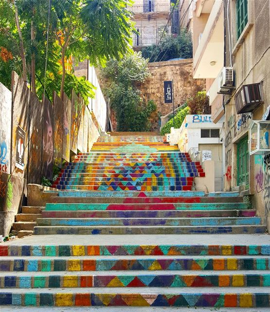 Hidden  Beirut... good morning! ❤💛💙💚...... Lebanon  hiddenbeirut ...