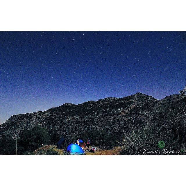 Camping is the answer. *Who cares what the question is* 🍃... Canon... (El Laklouk, Mont-Liban, Lebanon)