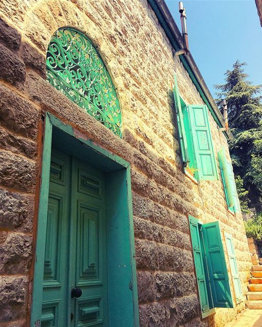 "The Green ""Park House"" 💚 maaseralchouf  maaserelshouf  houses  parkhouse... (Chouf)"