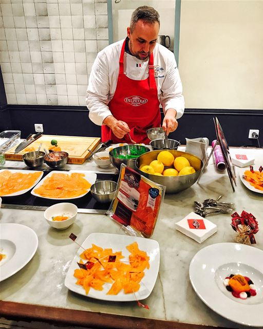 Getting ready for Christmas season with Delpeyrat. They presented a... (L'Atelier des Sens)