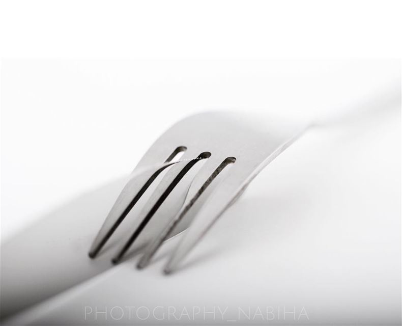 Reflecting,Abstracting,Photographing  blackandwhite  monochrome  fork ...