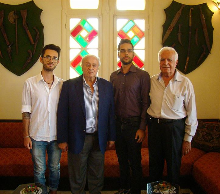 With a private visit to mokadem Rachid Mezher at Mezher Palace. Such a... (Hammana)