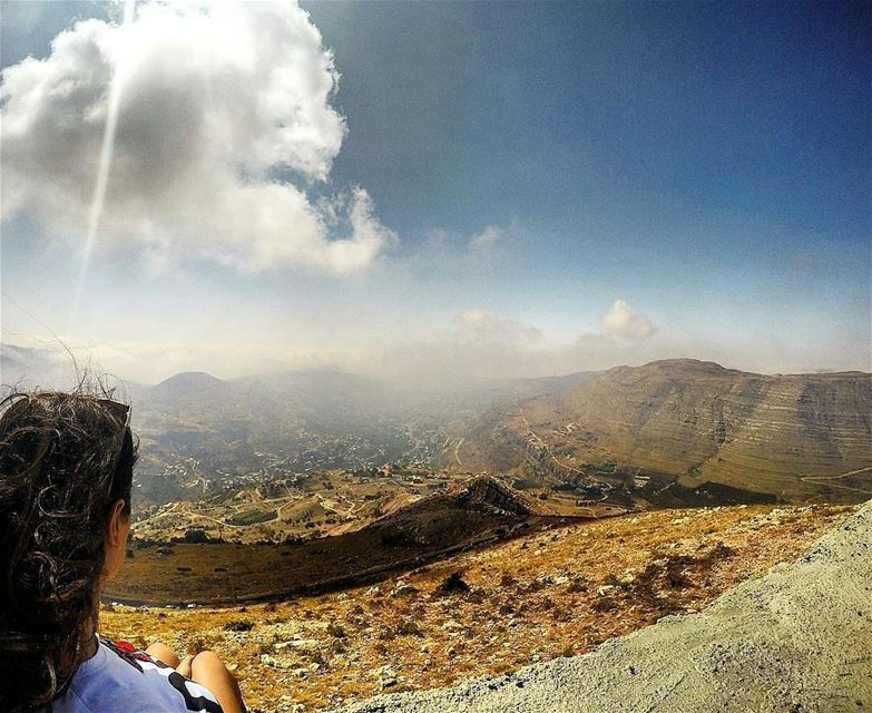 """Climb the mountain... So you can see the world. Not the world can see you"" (Faraya, Mont-Liban, Lebanon)"