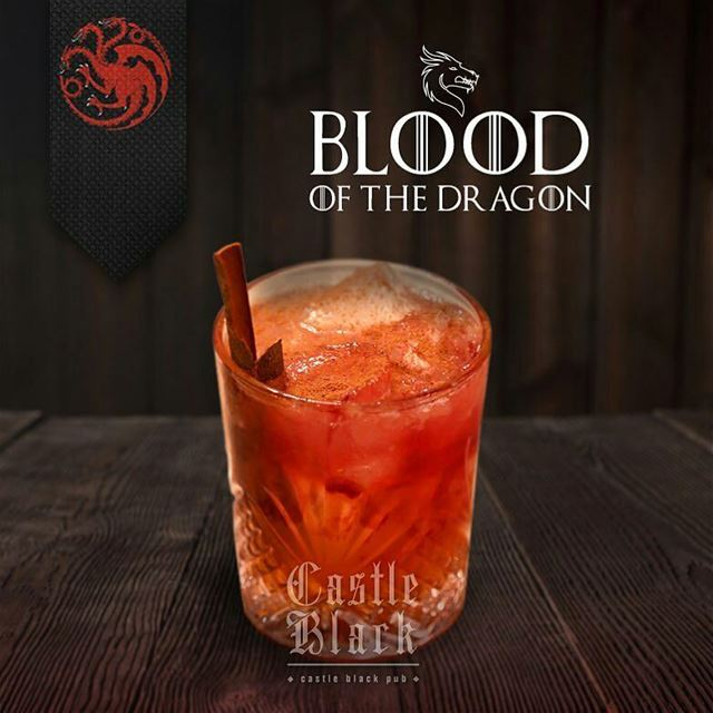 "@Regrann from @castleblackpub -  Come and try the ""Blood Of The Dragon"" A... (Castle Black)"