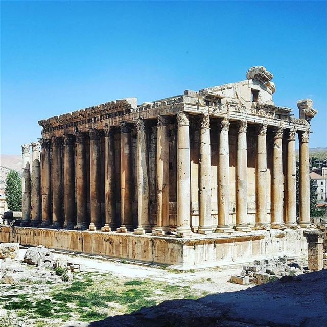 Good Morning Lebanon from Baalbek صباح الخير من قلعة بعلبكPhoto taken by... (Baalbek, Lebanon)