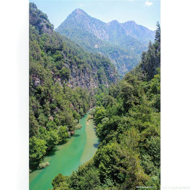 tb  chouwen  mountlebanon  lake  nature  mountains  river  forest ... (Chouwen)