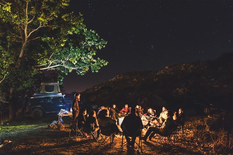 Weekend getaway with some quality friends ⛺️ 🔥 🎶............. (El Laklouk, Mont-Liban, Lebanon)