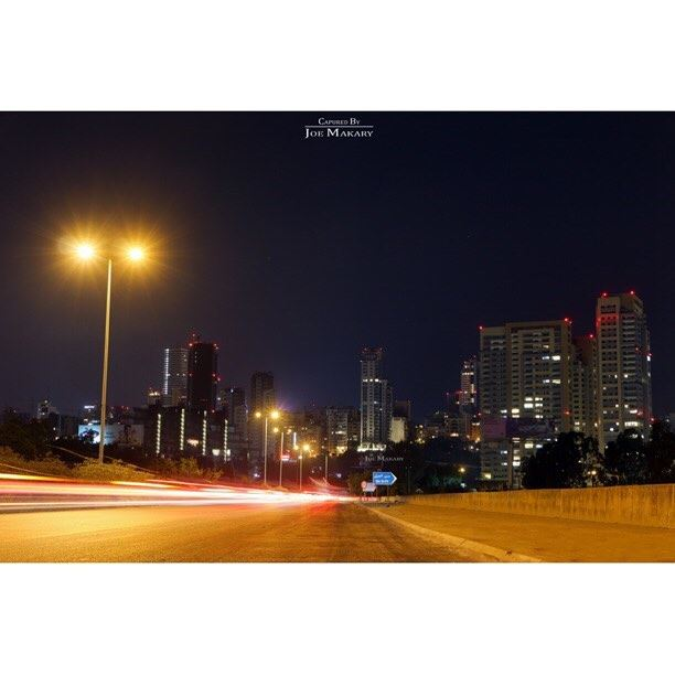 beirut  livelovelebanon  livelovebeirut  building  road  nighttraffic ...