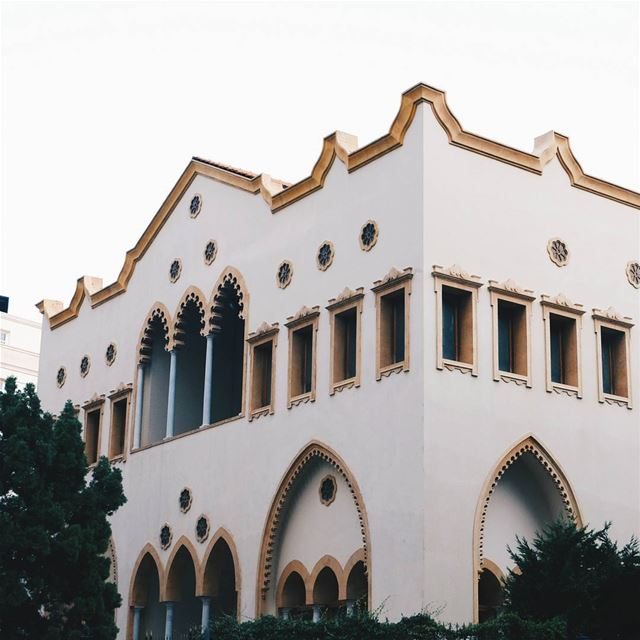 """Old is always Gold"" [Abdel Kader Palace, Beirut] palace  villa  mansion ... (Wadi Abu Jamil)"