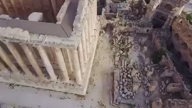 Exclusive behind the scenes of  MaisonValentino Fall/Winter 2017 movie... (Baalbek , Roman Temple , Lebanon)
