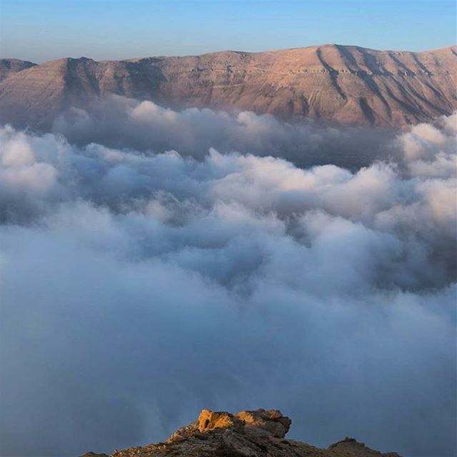 autumn be like😍 autumn2017  clouds  fog  mistPhoto credits: @harbsjack... (Bekaa Kafra)