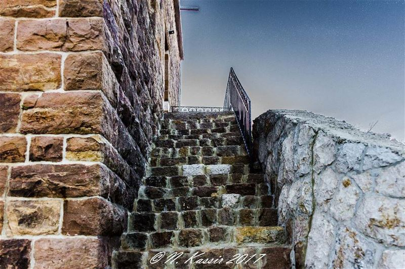 stairs  stones  mountain  ngconassignment  Lebanon  ig_great_shots ... (Baskinta, Lebanon)