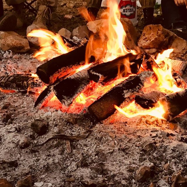 Happiness is lighting a bonefire and having great company!!! Have a... (Rashayya, Béqaa, Lebanon)