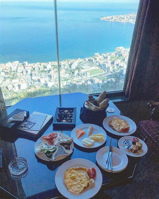 GoodMorningLebanon  Repost @ramystylist・・・All happiness depends on a... (Bay Lodge)