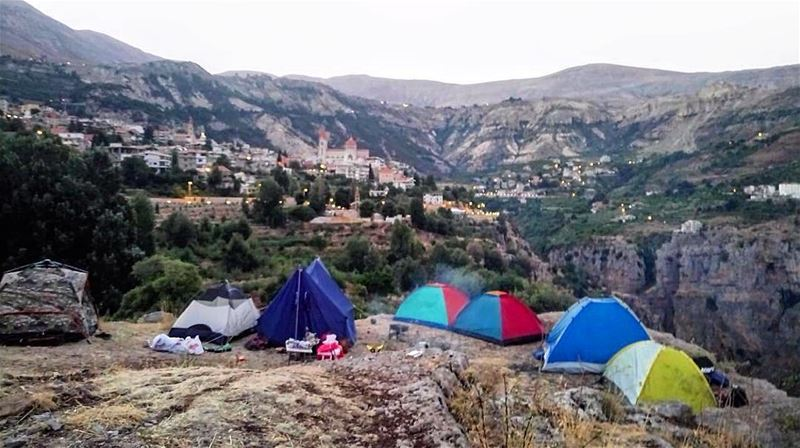 It feels really good to go on a camp and meet new people 👌🏽........ (Bsharri, Lebanon)