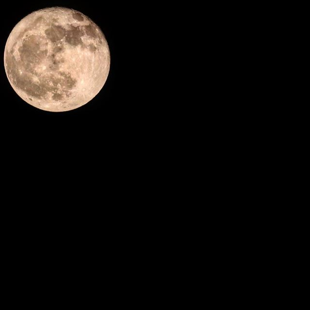 It's a full moon 🌕 🐺  awou  fullmoon  moon  light  peace  night  sky ...