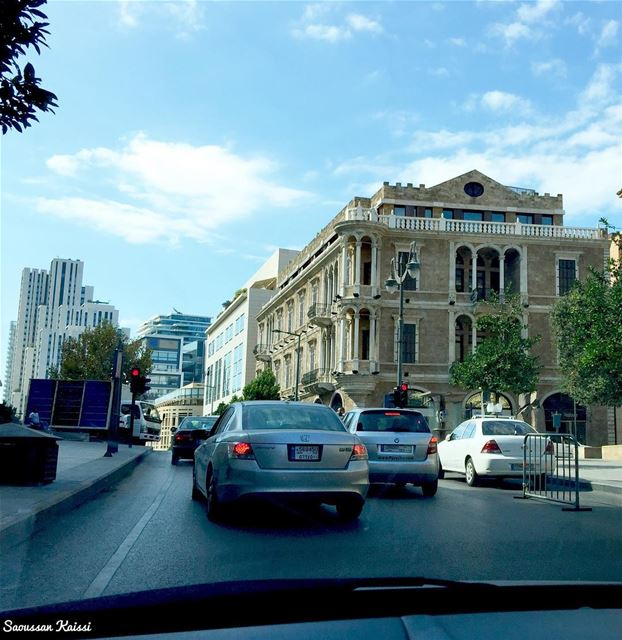 traffic  downtown  now beirut  lebanon  visitlebanon  heritage...