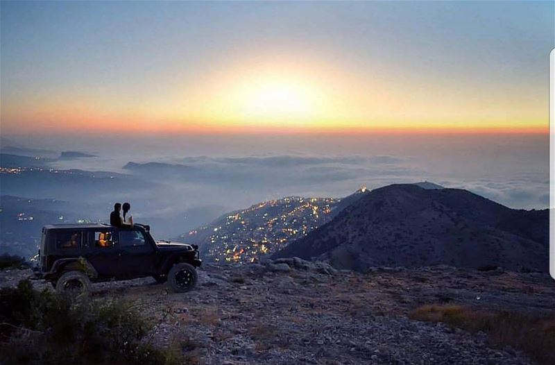 What beats that  liveloveehden moment for Sunset?Amazing shot by @estelle (Ehden, Lebanon)
