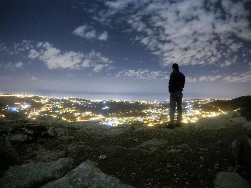 Escaping the noise of cities ....... adventure  cities  light ... (Falougha, Mont-Liban, Lebanon)