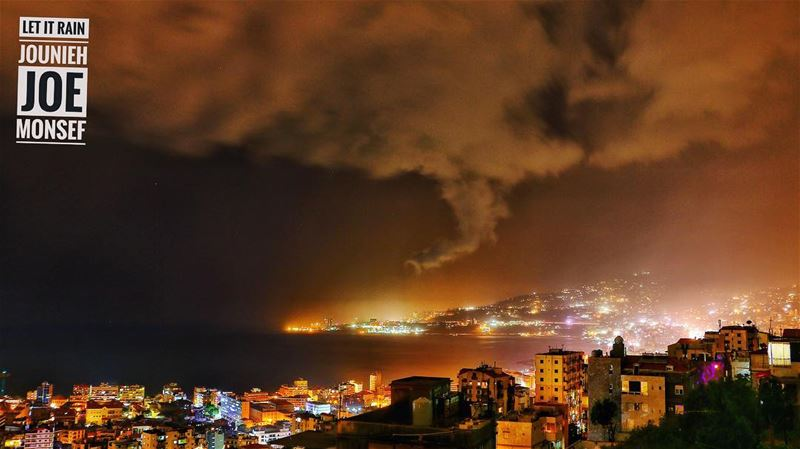rain  winter  night  jounieh  lights  darkness  photography  photographer...
