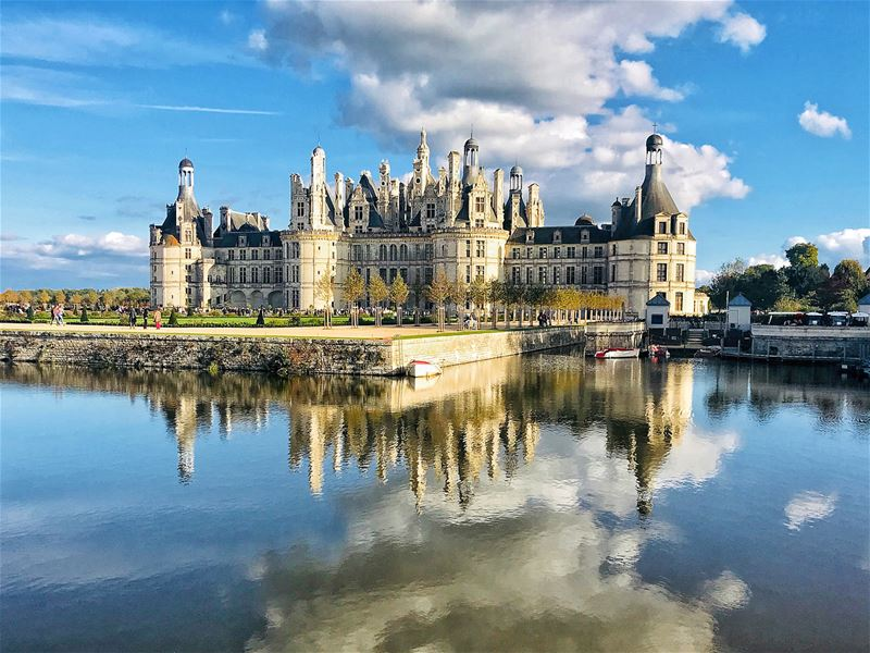 Chateau de Chambord, the second most visited castle in France after... (Château de Chambord)