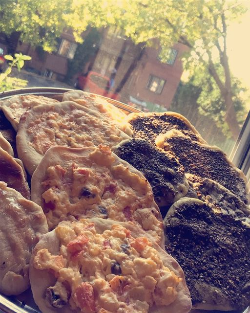 Lebanese manakish ( Homemade ) 💜⭐️Ingredients For the bread dough✨500 ... (Montreal, Quebec)