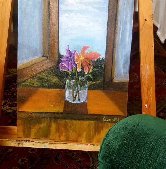 art artist paintingartwork  mywork  artstudio  artist stilllife painting ... (Aley)