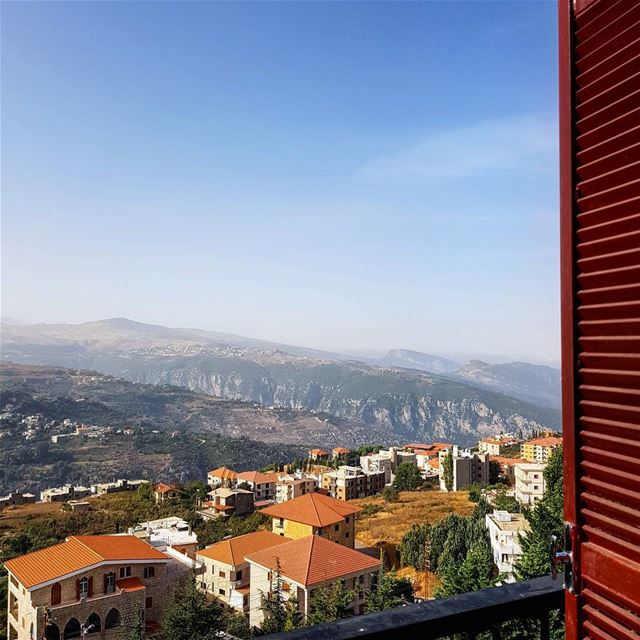 View from my hotel room in Ehden. The Grand Hotel Abchi was founded in... (Grand Hotel Abchi)