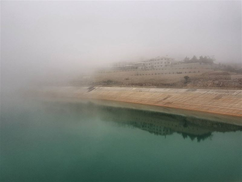 Foggy... (Mount Lebanon Governorate)