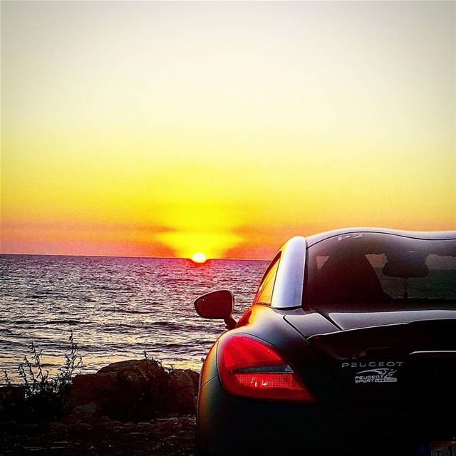 sunset  beach  lebanon  psl  idriveicare  love  loyal  loveit  pride ...