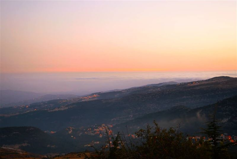💫 The  Sunrise as seen from  SaydetElHosn ______________________Follow:... (Saydet El Hosn - Ehden)