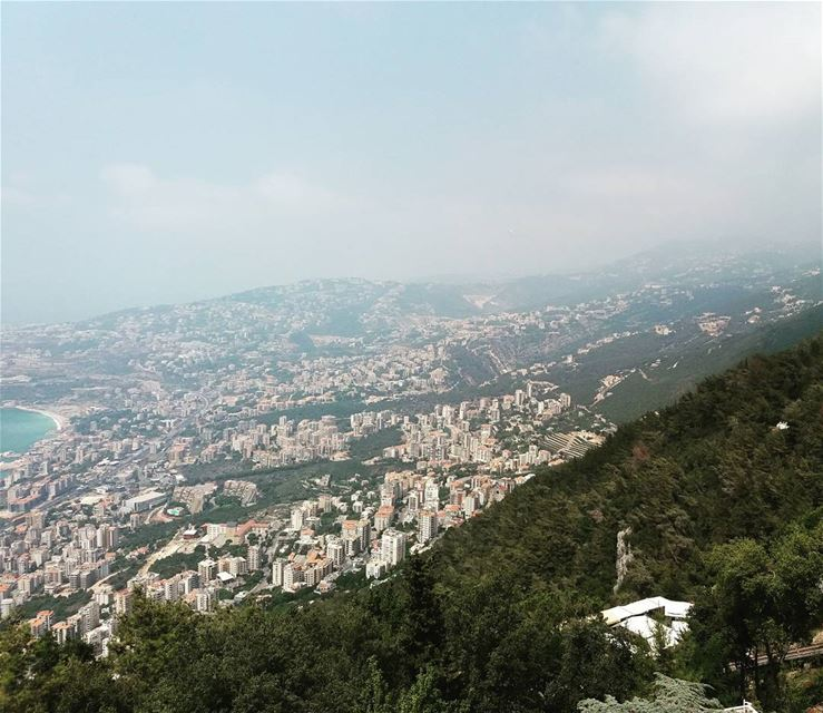 What a beautiful view from junieh Lebanon♡ tbt  lebanon  liban  junieh ...