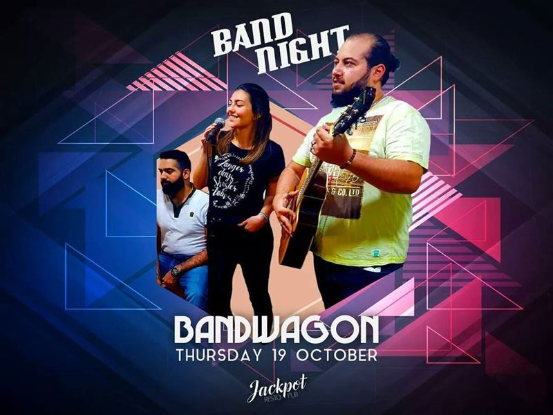 "Another Thursday and another band night!! Hop on the ""Bandwagon"" this..."