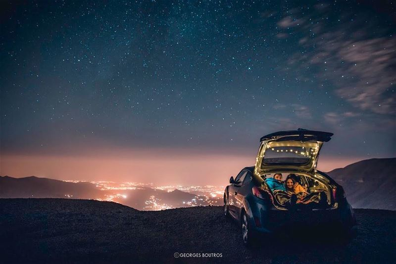 Home & Adventure all at once ✨ -- landscape  nightphotography ... (Lebanon)