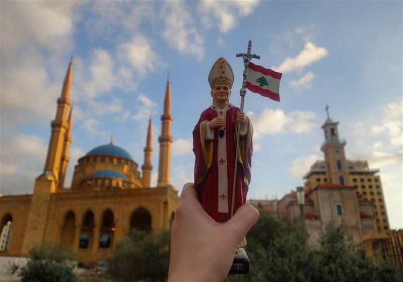 "🕌  🇱🇧 ⛪""Lebanon is more than a country; it is a message of freedom and... (Beirut, Lebanon)"