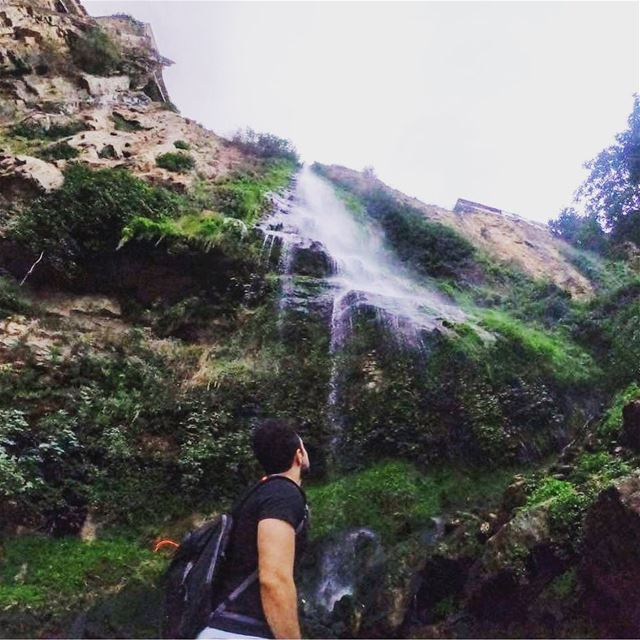 The earth has music for those who listen🏞  goprohero6  waterfall  jezzine... (Jezzine Waterfall)