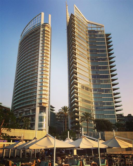 The new marina of Beirut...such a contrasted city, isn't it?...... (Zaitunay Bay)