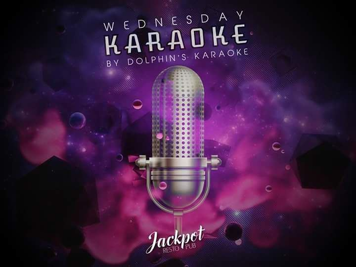Here we go again, another karaoke night at Jackpot Jounieh, to sing it...