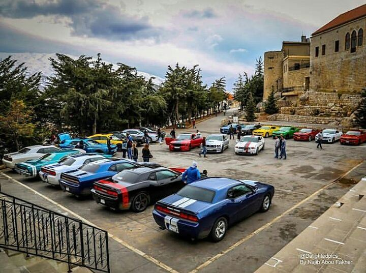 ThrowBack to a beautiful visit from Dodgers Club Lebanon to our Castle... (قلعة الاستقلال)