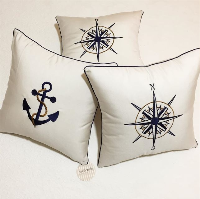 North or South 🛥Waterproof cushions for the boat ⚓️Write it on fabric by...