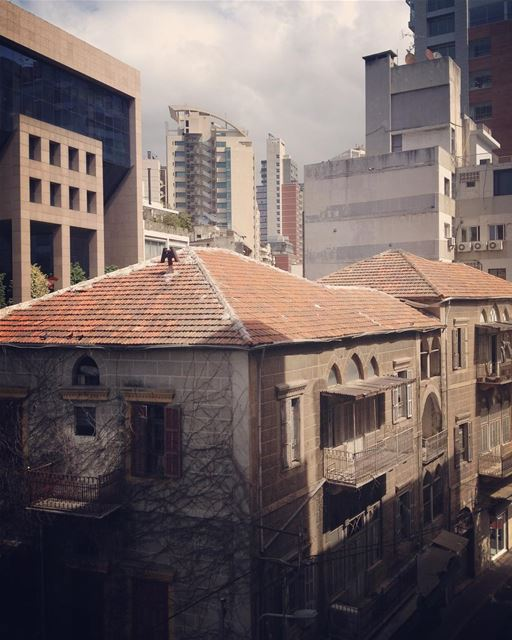hidden gems... lebanon  oldhouse  city  cityview  green  lebanon ... (Achrafieh, Lebanon)