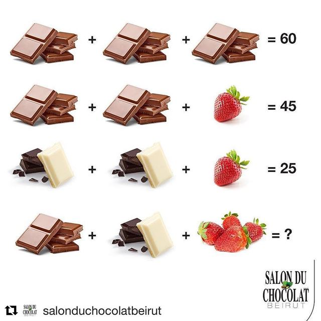 Repost @salonduchocolatbeirut (@get_repost)・・・IT'S COMPETITION TIME😉!...