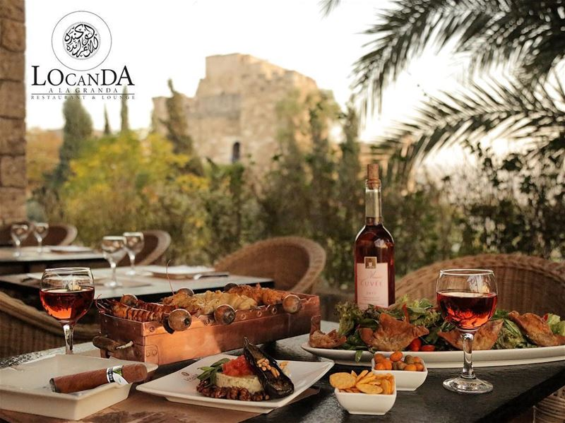It still feels like summer here at Locanda A La Granda!@locandaalagranda ... (Locanda A La Granda)
