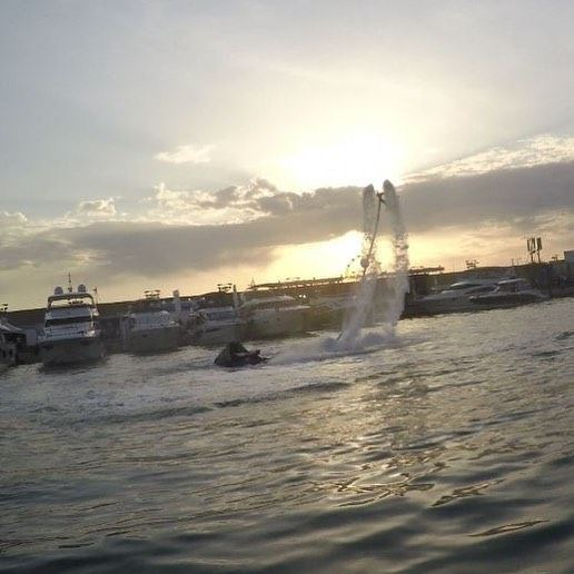 If I listen closely I can hear the rustle of Angel wings..... & I know you' (Zaytouna Bay Beirut)